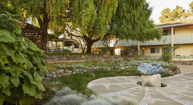 Canterbury Woods courtyard