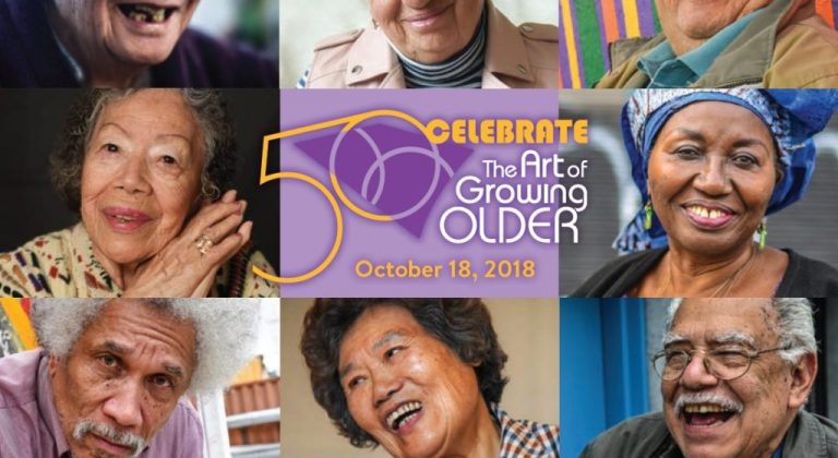 Celebrate the art of growing older