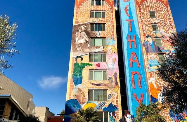 Bethany Center building mural