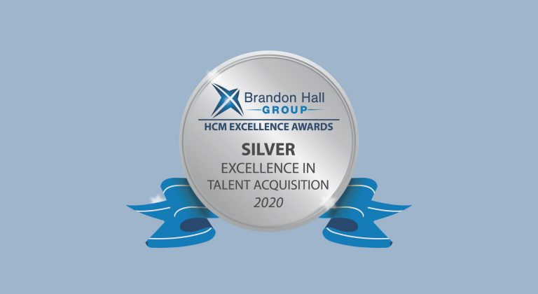 Silver Award for excellence in talent acquisition