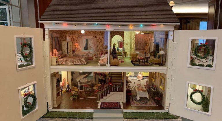 a tiny doll house