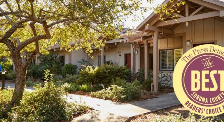 Spring lake village named best of Sonoma County