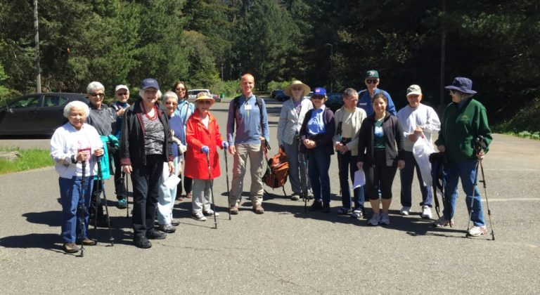 group of residents for senior health and fitness