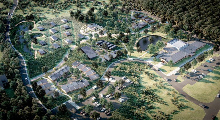 Minka Village of Hope overhead view
