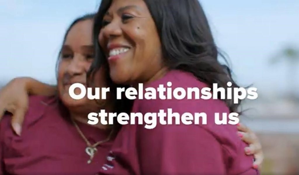 Our Relationships Strengthen Us - Link to video